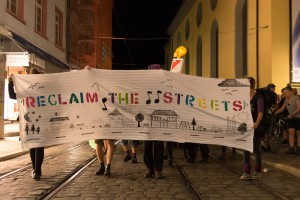 Reclaim Freiburg 25.07.2015