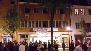 Haus besetzt! Betholdstraße 22, 25.07.2015